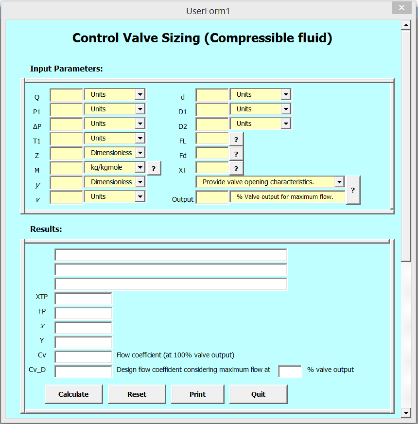 Control Valve Sizing - Single and Two Phase - Cheresources